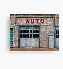 Auto Shop Canvas Print