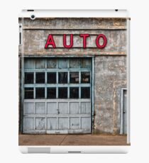 Auto Shop iPad Case/Skin