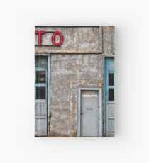 Auto Shop Hardcover Journal