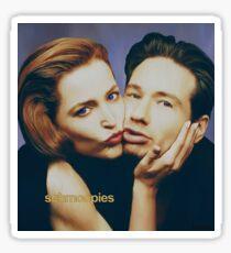 The Schmoopies - Gillian and David painting Sticker