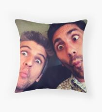 Nev n Max Throw Pillow