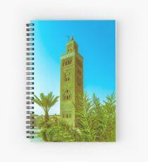 Koutoubia Mosque - Marrakech, Morocco Spiral Notebook