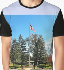 """""""Old Glory, Still Standing Tall""""... prints and products Graphic T-Shirt"""