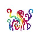 Let's Get Weird Tye Dye Octopus by kay-la-vie