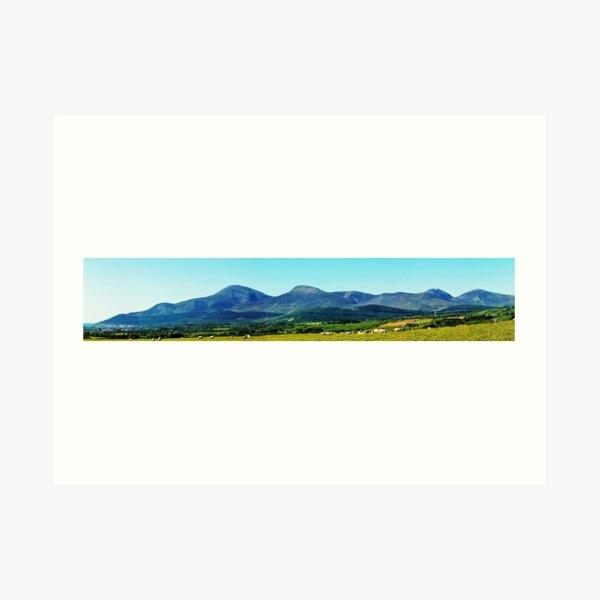 Mournes Panorama Art Print