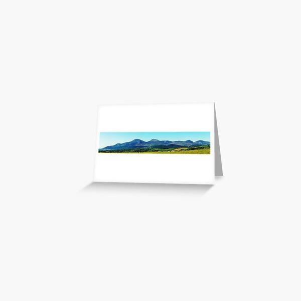 Mournes Panorama Greeting Card
