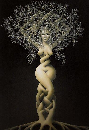 treemaid by Stephen McLaren
