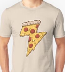 Thunder Cheesy Pizza T-Shirt