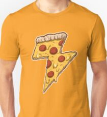 Thunder Cheesy Pizza Unisex T-Shirt