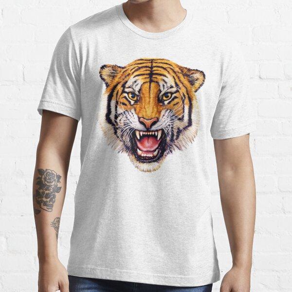 snarling tiger t-shirt design Essential T-Shirt