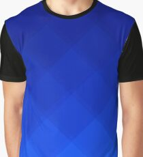 Blueberry Tile Pattern Graphic T-Shirt