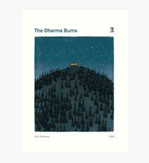 The Dharma Bums - Jack Kerouac Art Print