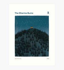 The Dharma Bums - Jack Kerouac Art Print