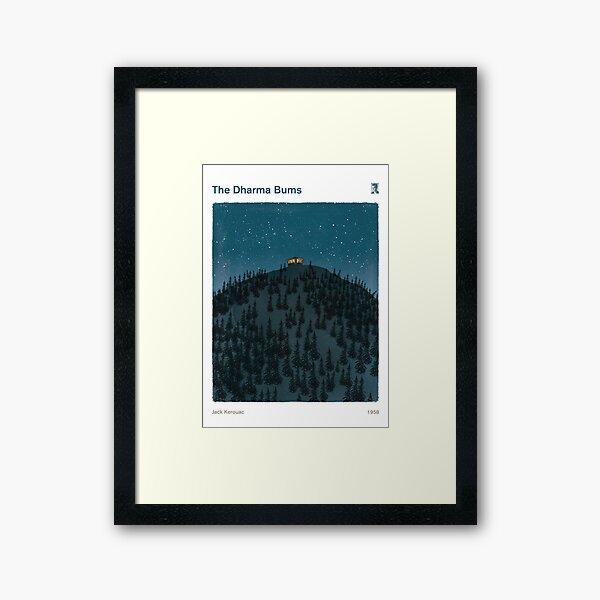 The Dharma Bums - Jack Kerouac Framed Art Print