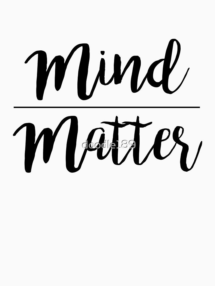 Mind over matter by doodle189