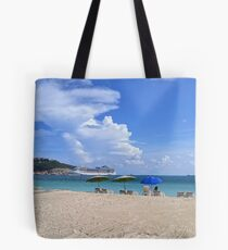 Ashore in Phillipsburg Tote Bag