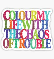 Color My Life Sticker