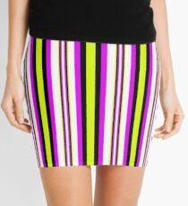 Deep Verticality Mini Skirt