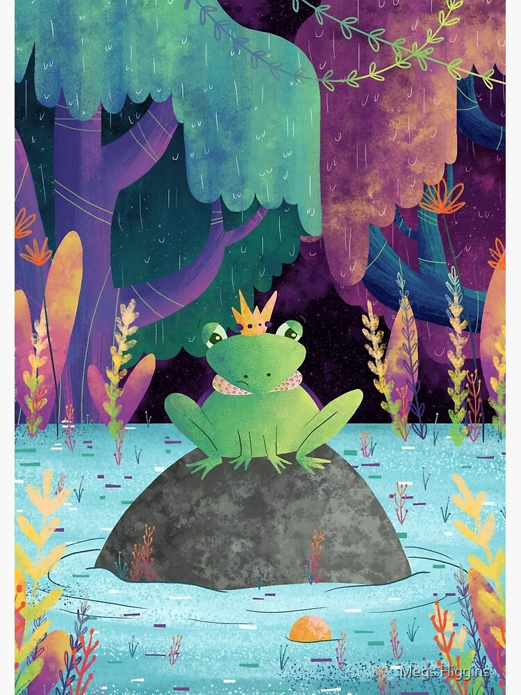 Frog Prince by megsneggs