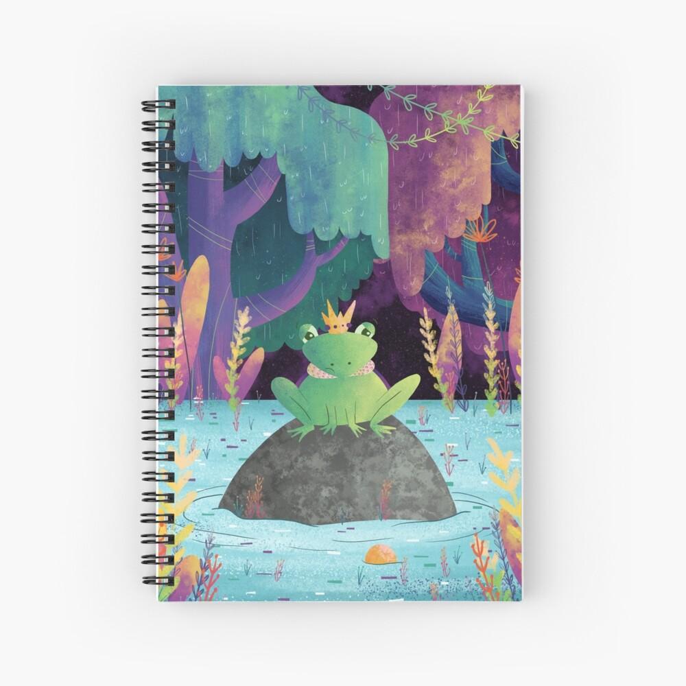 Frog Prince Spiral Notebook