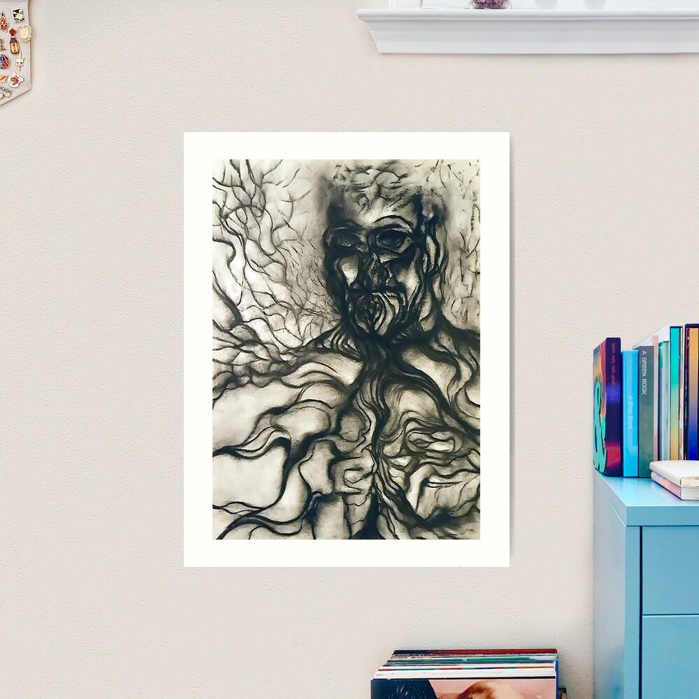 Breath. Art Print
