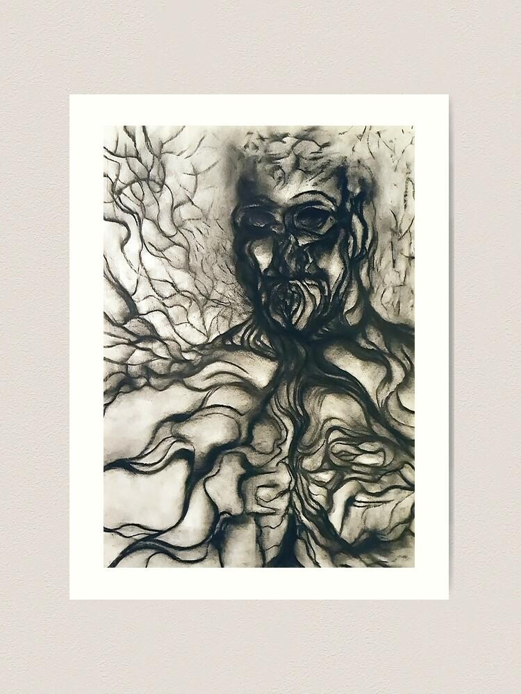 Alternate view of Breath. Art Print
