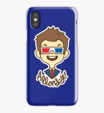 chibi!Allons-y iPhone Case
