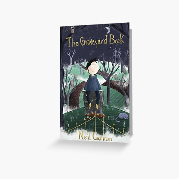 The Graveyard Book Greeting Card