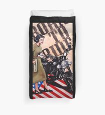 Born To Ride Duvet Cover