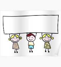 New kids design in Shop! Arrival for christmas  Poster