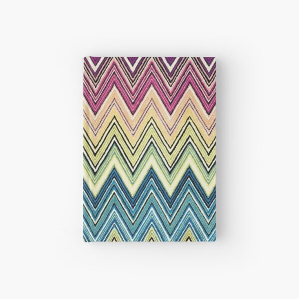 missoni home zigzag Hardcover Journal