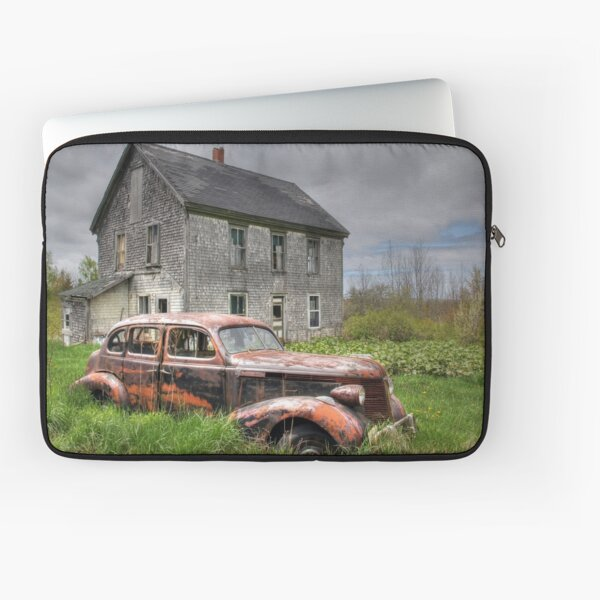 The Old Pontiac Laptop Sleeve