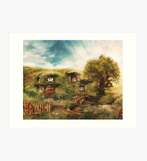 The Shire Art Print