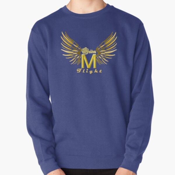 Logo Words Wings Pullover Sweatshirt
