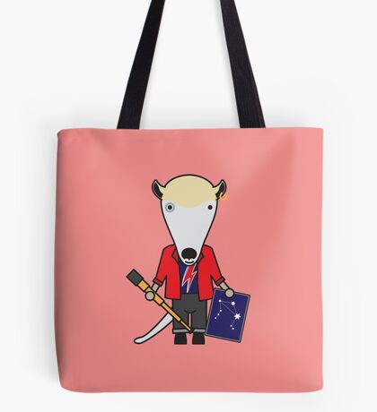 Alan the Astronomer Anteater Tote Bag