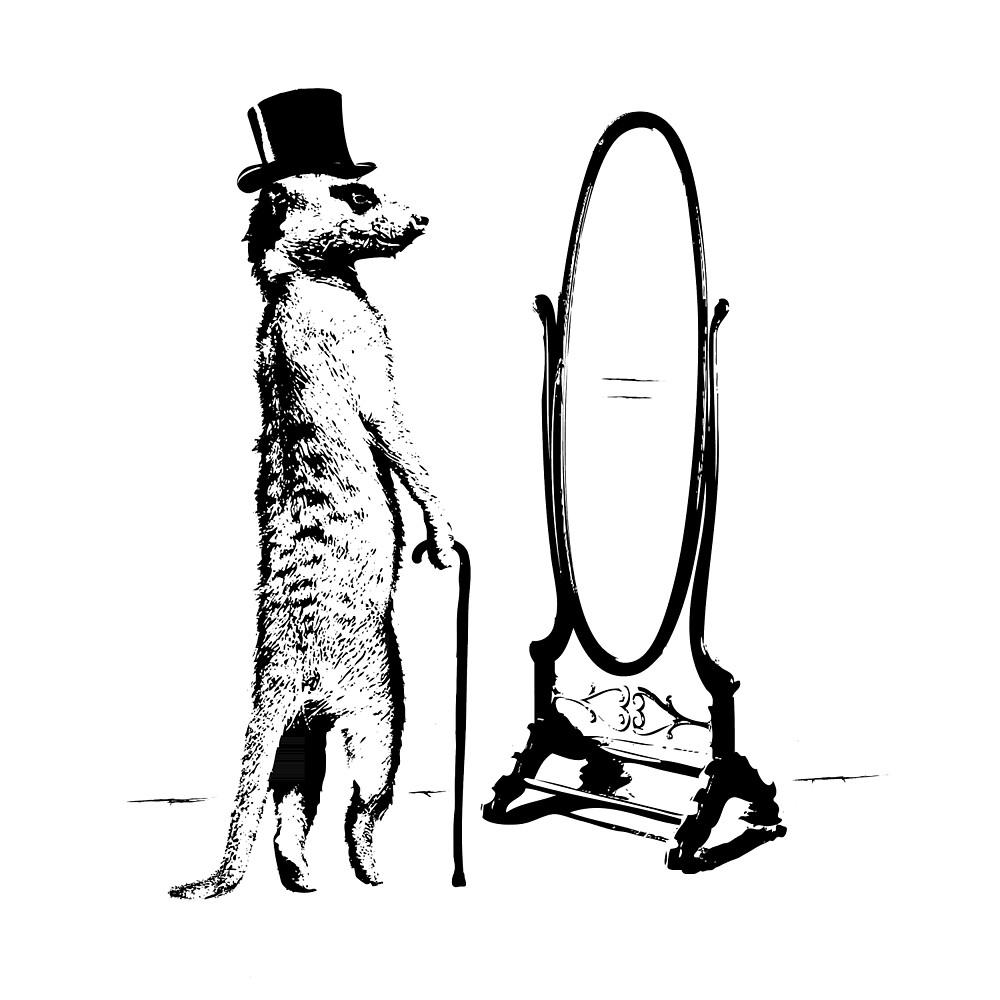 Brett the Meerkat by Decibel Clothing by Decibel Clothing