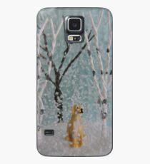 Labrador SnowGlobe Case/Skin for Samsung Galaxy