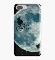 BB8 e.t. cycling moon iPhone 7 Plus Case