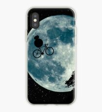 BB8 e.t. cycling moon iPhone Case