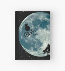 BB8 e.t. cycling moon Hardcover Journal