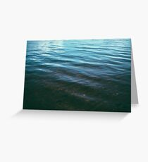 Lost Boy out at Sea Greeting Card