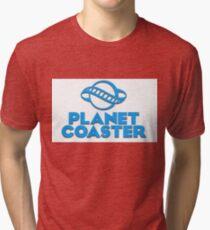 Planet Coaster Tri-blend T-Shirt