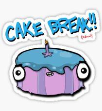 CAKE BREAK (down) Sticker