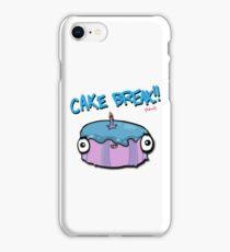 CAKE BREAK (down) iPhone Case/Skin