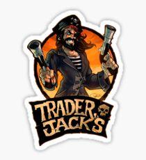 Trader Jack's Sticker