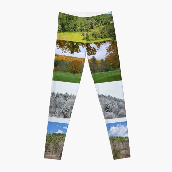 Vermont Seasons Leggings