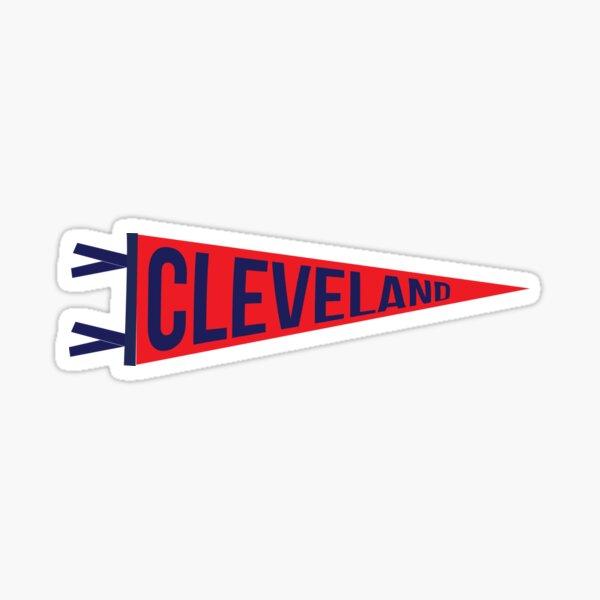 Cleveland Pennant Sticker