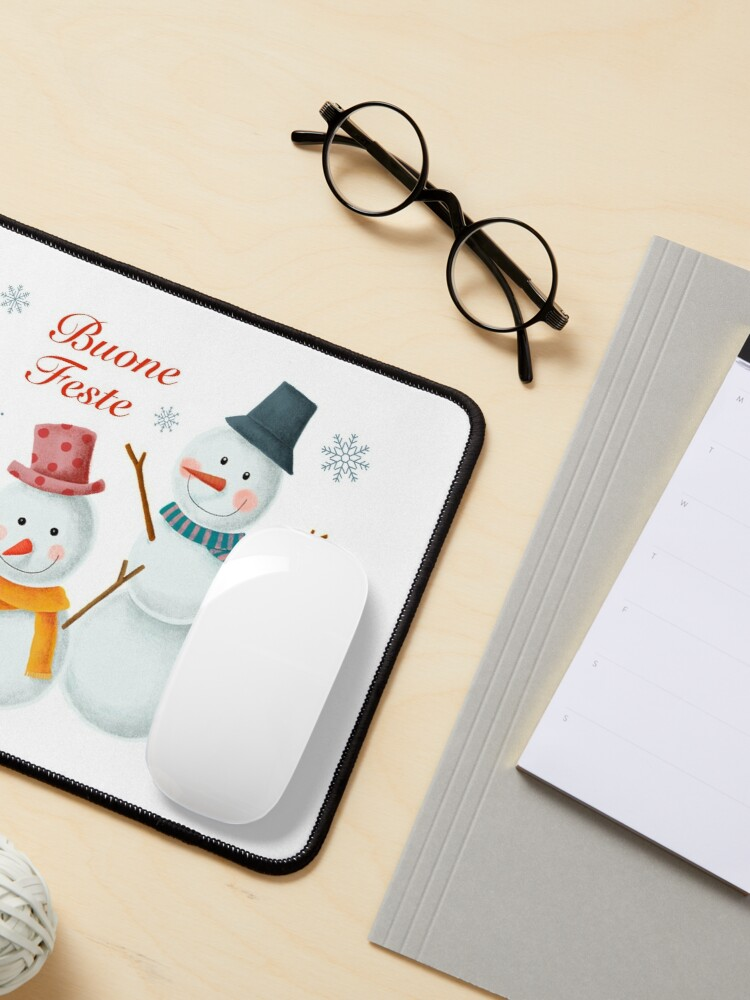 Alternate view of Buone Feste Mouse Pad