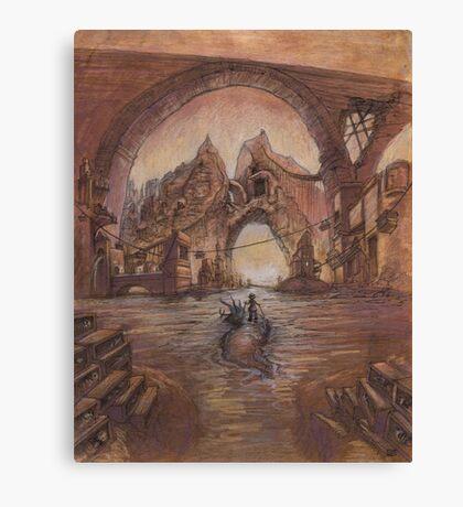 Curdle Gate  Canvas Print