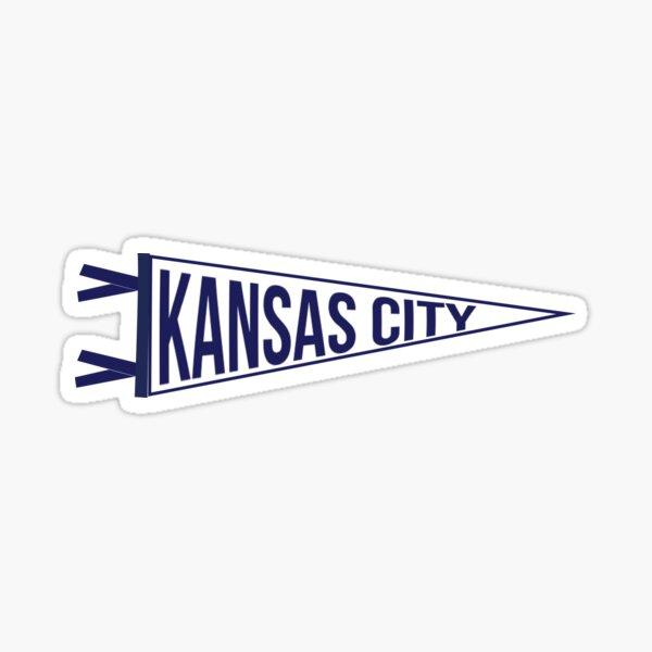 Kansas City Pennant Sticker